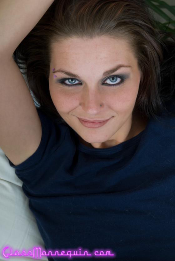 Evil Blue Eyed Brunette Tasha Burke