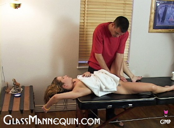girl gets massaged and fucked