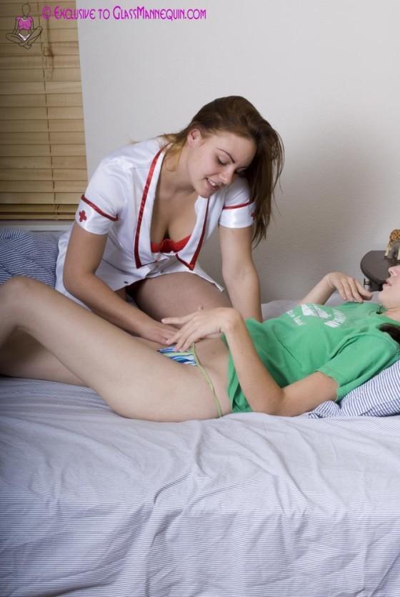 Naughty Nurse Loves Pussy